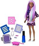 Barbie FHX01 Haarfarben-Spaß Puppe (brünett)