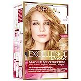 L'Oréal Paris Excellence Creme Coloration, 8 - Blond, Haarfarbe