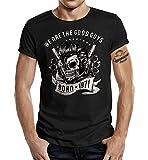 Rockabilly Geschenk T-Shirt zum 50. Geburtstag - Born in 1971 - We Are The Good… … L